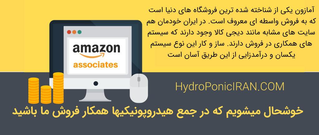 آمازون پیشگام فروش رابطه ای یا واسطه ای یا سیستم همکاری در فروش است. اینفلوئنسرها یوتیوب دیجی کالا